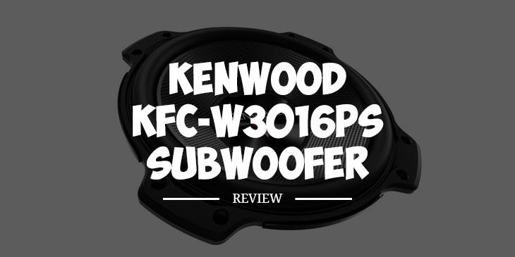 kenwood kfc w3016ps subwoofer