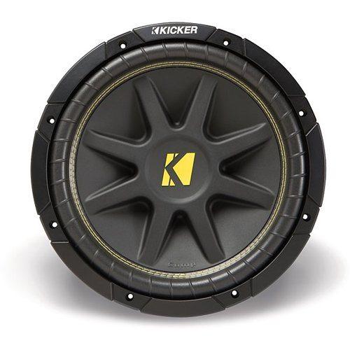 "Kicker 10C84 (10C8-4) 8"" Single 4 ohm Car Subwoofers"