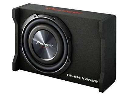 Pioneer TSSWX2502 10-Inch Shallow-Mount Pre-Loaded Enclosure Sub Woofere