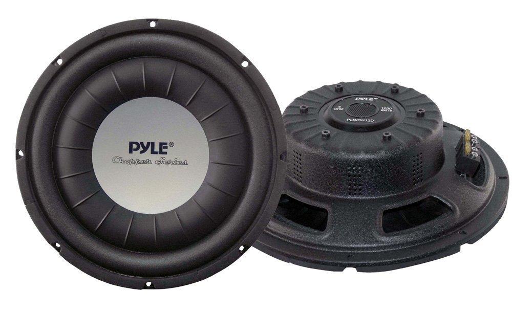 Pyle PLWCH12D 12-Inch 1,200-Watt Subwoofer