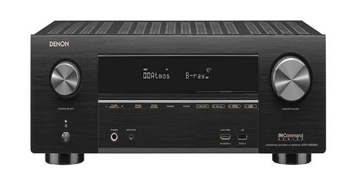 Denon AVR X3500 Av receiver