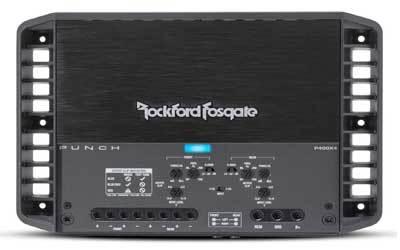 Rockford Fosgate P400X4 Punch 400-Watt Channel Amplifier