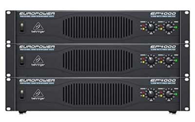 Behringer Europower-EP4000 Power Amplifier