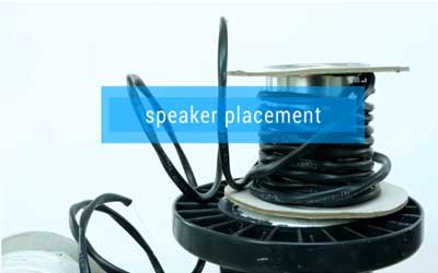 Ensure the speakers are at a sufficient