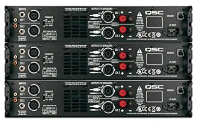 QSC GX3 Power Amplifier