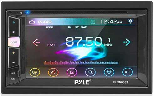 Double Din DVD Touch Screen Car stereo Receiver