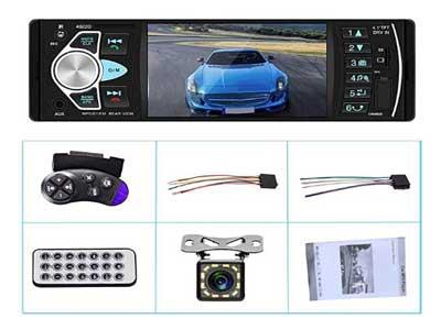Multimedia Car Stereo Single Din Car Radio