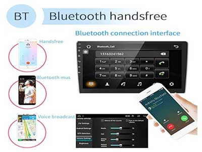 UNITOPSCI Double Din Android Car Stereo Receiver